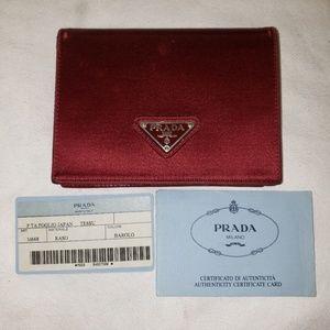 "Prada wallet 5""Lx3¹/⁴""H"